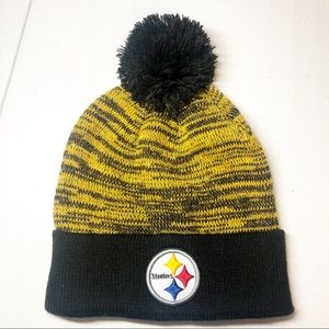 NWT Kids Steelers NFL Beanie
